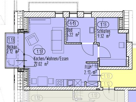 Über 3m Deckenhöhe: Stilvolle Eigentumswohnung in Alt-Osternburg [1.13]