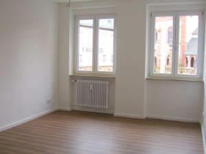 Wohnzimmer m. Blick auf Basilika