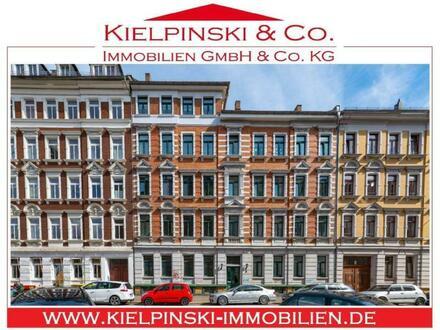 ! Sofort frei, wohnen im beliebten Stadtteil Schleußig !