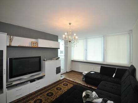 Über den Dächern von Frankfurt! Geräumige 3-Zimmer-Wohnung mit Balkon in F.-Bonames!