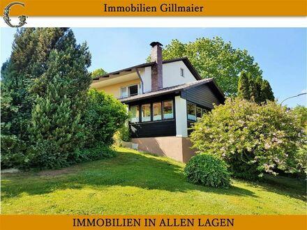 VERKAUFT!! - Immobilien Gillmaier - Freistehendes Einfamilienhaus in sonniger Höhenlage!