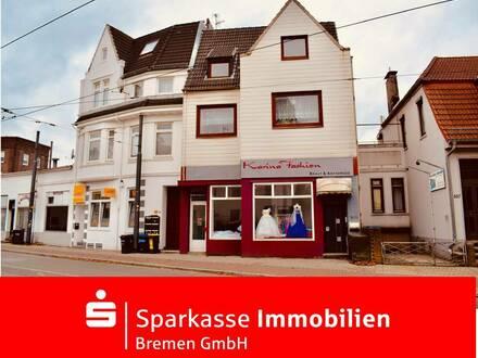 Gut geschnittene Dachgeschosswohnung mit Renovierungsbedarf in Huckelriede
