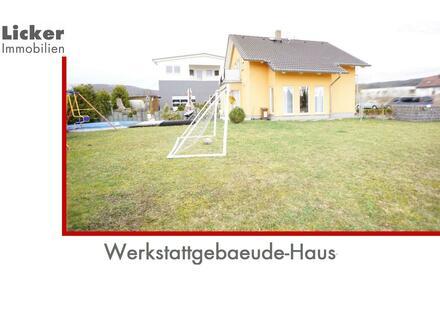 Bj. 2006 - 1 Fam.-Haus und KFZ-Werkhalle mit 11Ar
