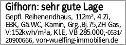 Gifhorn: sehr gute Lage