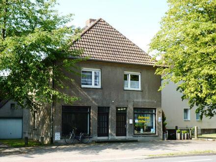 Verkauf eines kleinen Wohn- und Geschäftshauses in Minden, zentrumnah
