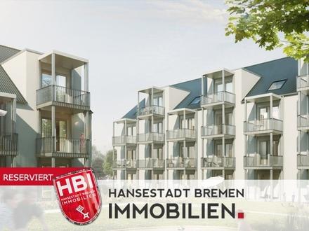 Hastedt / Kapitalanlage / Neubau - Großzügige 1-Zimmer-Wohnung mit Balkon