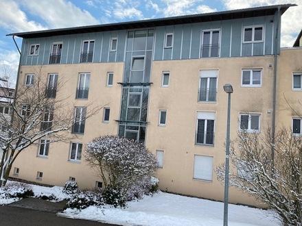 schöne, helle 2-Zimmer-Wohnung, sonniger Südbalkon