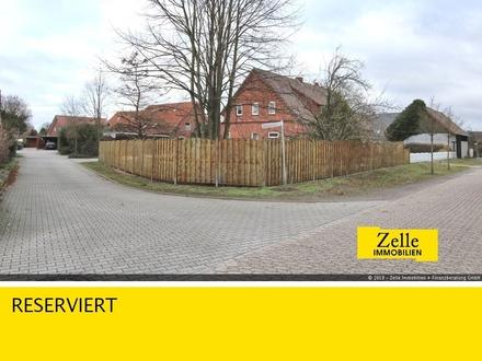 RESERVIERT! Prima Bauplatz auf kleinem Eckgrundstück in Gessel