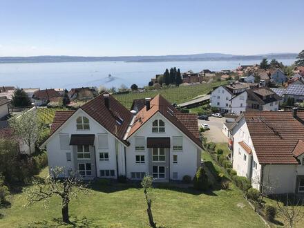 Wohnen auf hohem Niveau - See- und Bergsicht - komfortable 5,5 Zimmer Maisonette-Wohnung
