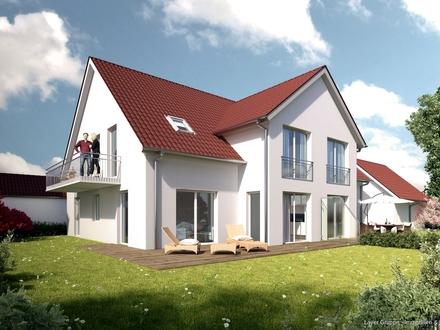 LAYER HAUS AG: Doppelhaushälfte in Schwabmünchen - ruhige Lage! (projektierter Neubau)