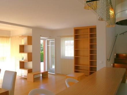 Einfamilienhaus-Hallwang bei Salzburg-Wohnzimmer
