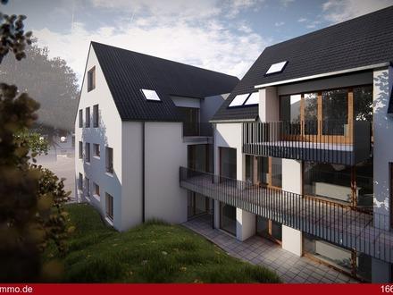 4 Zimmer - Terrasse - Gartenanteil
