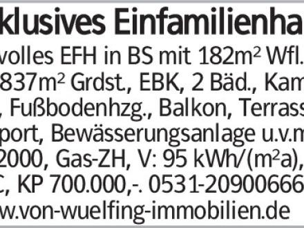 Exklusives EFH in Braunschweig!