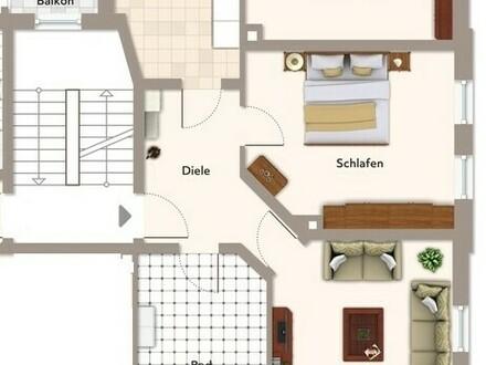 Topsanierte, lichtdurchflutete Altbauwohnung im Haus der Jahrhundertwende