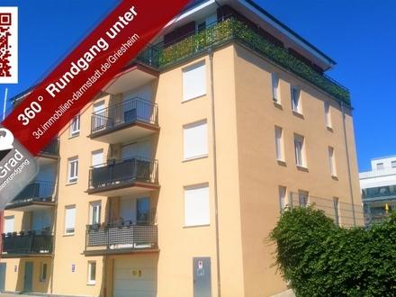 Großzügige 4 Zimmer Wohnung mit Balkon und Tiefgarage in Griesheim