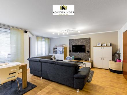 2,5-Zimmer Wohnung mit großem offenen Wohnbereich und Terrasse