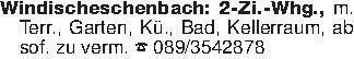 Windischeschenbach: 2-Zi.-Whg....