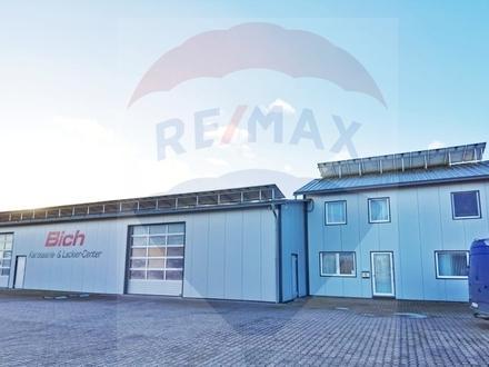 Autowerkstatt mit Betriebswohnung und Büroräumen zu verkaufen!
