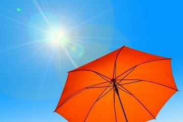 Sonnenschutz für wärmere Tage