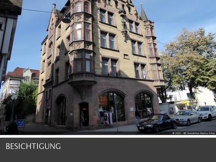 """Großzügige 6-Zi.-Wohnung im denkmalgeschützten """"Kaiser-Friedrich-Haus"""" in der Ulmer Stadtmitte."""