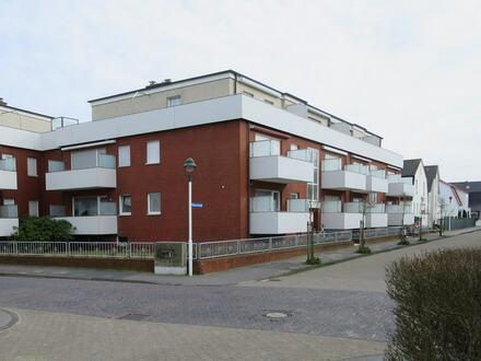Möblierte Ferienwohnung mit Balkon am Nordstrand von Norderney