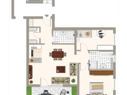 RESERVIERT +++ AS-Immobilien.com +++ Bad Orb: Komfort-Eigentumswohnungen mit Gartenanteil +++