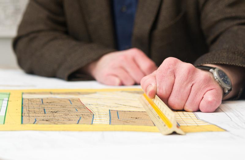 Der Bebauungsplan zeigt, ob eine Grundstücksteilung möglich ist.