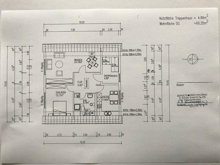 2-Raum-Wohnung Eberswalde/Ostend