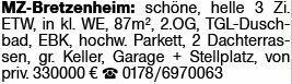 3-Zimmer Eigentumswohnung in Mainz-Bretzenheim (55128)