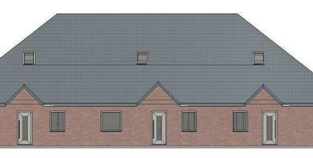 Exklusives Neubau-Reihenhaus mit drei Wohneinheiten in Hage