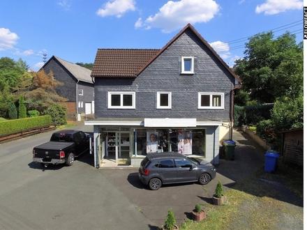 RESERVIERT | Eigentumsanteile: DHH mit Wohnung und Gewerbeeinheit in Wilnsdorf-OT