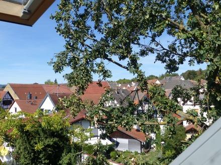 Gepflegte Maisonette-Wohnung, ruhig und naturnah