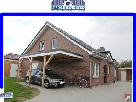 !!!Neubau/Erstbezug-Doppelhaushälfte in ruhiger Wohnlage von Bunde!!!