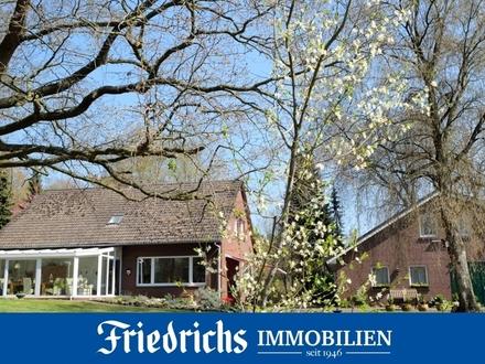 Direkt an der Sagter-Ems! Wohnhaus auf 2 ha Grundst. in naturverbundener Lage in Saterland-Strückl.