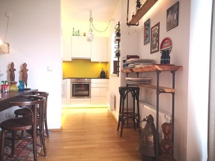 urban und zentral: Stylische 3 Zi-Wohnung ab sofort zu vermieten!