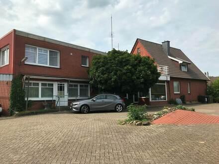 Gewerbeimmobilie mit 4 Wohneinheiten am Ortsrand der Gemeinde Ankum