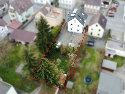 Kapitalanlage! Modernisiertes Mehrfamilienhaus mit potenziellem Bauplatz im Herzen von Bad Saulgau.