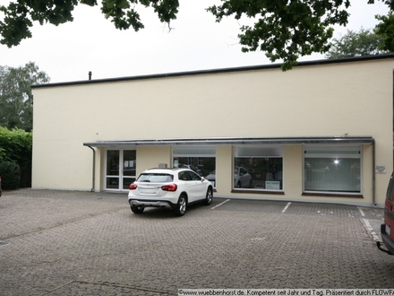 Großzügiger Bürotrakt mit Lager- und Verkaufsmöglichkeit in Wardenburg