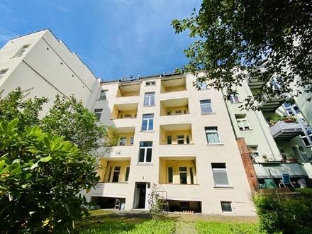 helle 3-Raumwohnung mit Balkon - Erdgeschoss - in Chemnitz Bernsdorf mieten