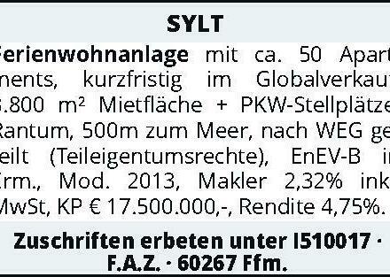 SYLT - Ferienwohnanlage