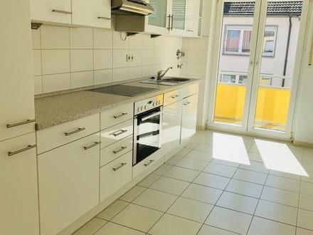 Zentral gelegene 2 ZKB-Wohnung mit 2 Balkons in MA-Rheinau