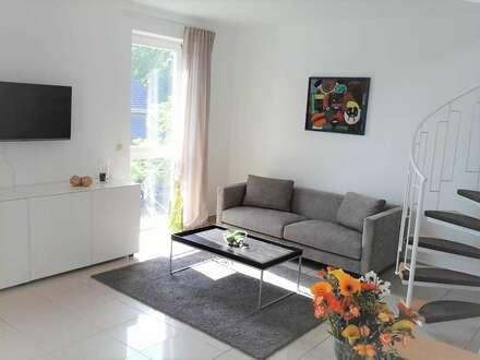 2 Zimmer Maisonette Wohnung mit einmaliger Aussicht auf die Weinberge, direkt am Golfplatz
