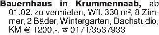Bauernhaus in Krummennaab, ab...