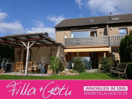 Gepflegtes, vermietetes Doppelhaus in schöner Lage von Schloß Holte!