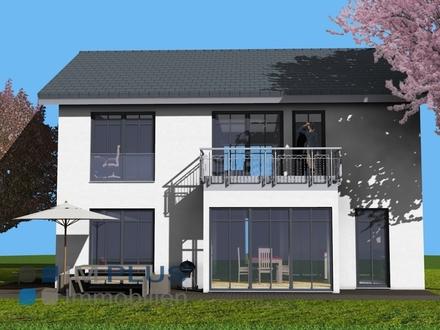 Großes KFW 40 NEUBAU-Einfamilienhaus mit großem Grundstück in ruhiger und guter Lage in Eiselfing!