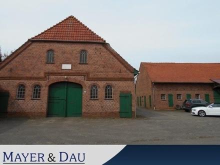 Beverstedt: Charmanter Resthof mit viel Land und Baugrundstück, Obj. 4216