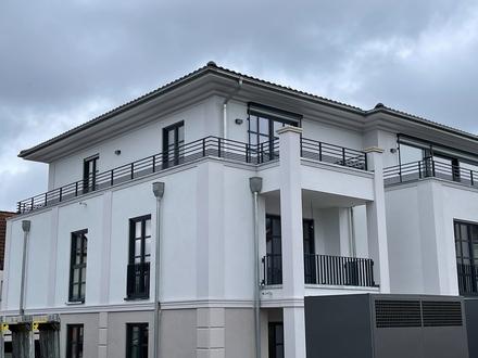 Neubau Gerwin Palais: helles 3-Zimmer Penthouse mit Dachterrasse
