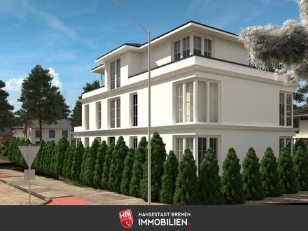 Lesum /: Penthousewohnung mit umlaufender ca. 30 m² großen Dachterrasse