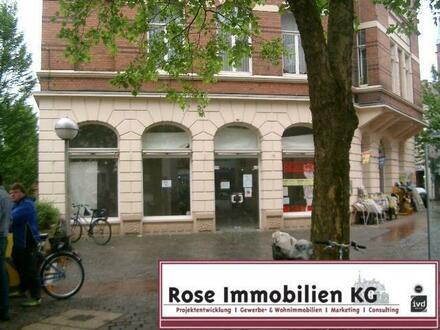 ROSE IMMOBILIEN KG: Ladenlokal mit viel Schaufenster in der City von Minden