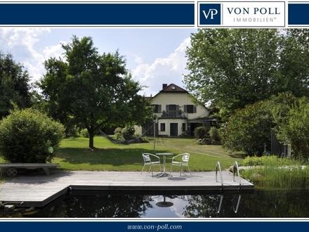 Landhausvilla mit großer Wiese und Baugrundstück!